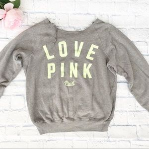 Victoria Secret PINK Long Sleeve Lounge Sweatshirt